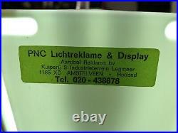 Rare Vintage Old Original Peugeot Light Sign Not Enamel NOS