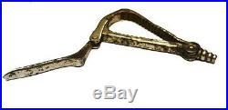 Rare old iron KASNETT Perille French nut cracker not corkscrew