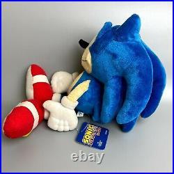RareSEGA Old Sonic the Hedgehog plush toy set of 3 Sanei limited japan