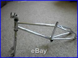 Robinson BMX 1990 JR racing frame used old school mid school BMX frame fork