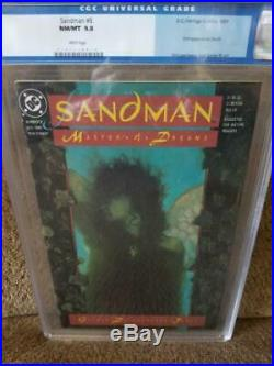 SANDMAN #8, CGC = 9.8, NM/M, 1st Death, Neil Gaiman, 1989, old CGC label