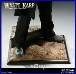 SIDESHOW WYATT EARP PREMIUM FORMAT FIGURE Limite500 Statue Doc Holliday Old West