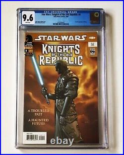 STAR WARS KNIGHTS OF THE OLD REPUBLIC #9 CGC 9.6 1st App REVAN HAAZEN Dark Horse