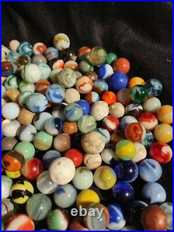 Selling Dad's old, vintage, antique, collectible marbles LARGE Lot #12