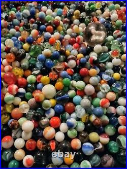 Selling Dad's old, vintage, antique, collectible marbles LARGE Lot #5