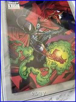 Spawn #1 CGC 9.8 Old Label 1st Appearance of Spawn Image comics