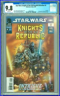 Star Wars Knights Of The Old Republic #0 Cgc 9.8 1st App Squint Aka Darth Malak