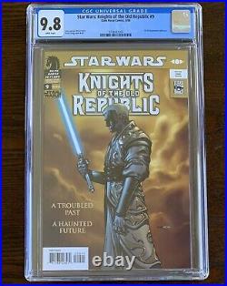 Star Wars Knights Of The Old Republic (2006) #9 Cgc 9.8 1st Darth Revan! Key