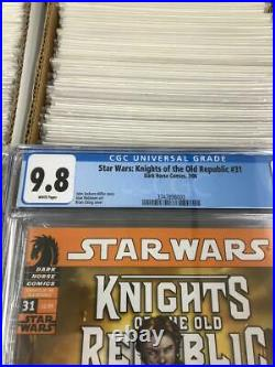 Star Wars Knights Of The Old Republic #31 Cgc 9.8 1st Darth Malak