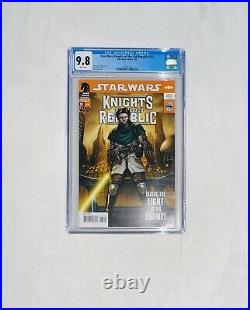Star Wars Knights Of The Old Republic 31 Cgc 9.8 1st Squint Darth Malak Rare