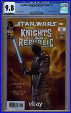 Star Wars Knights Of The Old Republic 9 Cgc 9.8 1st Appearance Of Raven