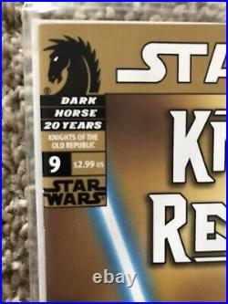 Star Wars Knights Of The Old Republic 9 (Dark Horse) 1st App Revan Newsstand Var
