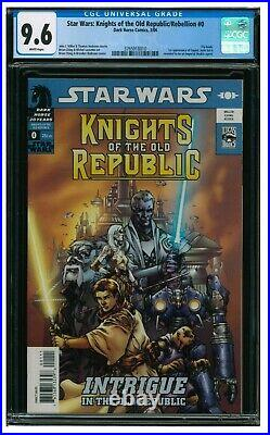 Star Wars Knights of Old Republic #0 (2006) 1st Appearance Squint CGC 9.6 AA209