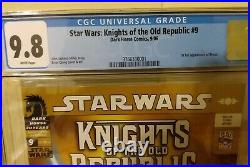 Star Wars Knights of The Old Republic #9 CGC 9.8 1st Full Revan HOT! HOT! HOT