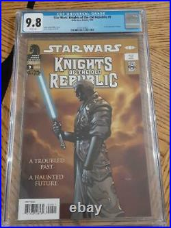 Star Wars Knights of The Old Republic #9 CGC 9.8 1st Full Revan Low Census