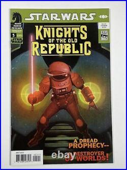 Star Wars Knights of the Old Republic 1-8 lot (1,2,3,4,5,6,7,8) Dark Horse comic