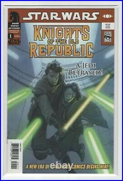 Star Wars Knights of the Old Republic #1 (Rare 2nd Print) VF/NM, Dark Horse 2006