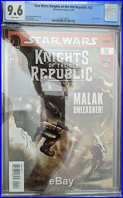Star Wars Knights of the Old Republic 42 -1st Full /Origin Darth Revan CGC 9.6