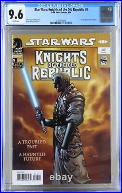 Star Wars Knights of the Old Republic #9 1st Appearance of Darth Revan CGC 9.6