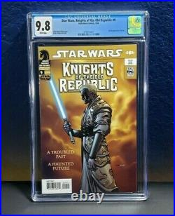 Star Wars Knights of the Old Republic #9 CGC 9.8 1st Appearance of Revan