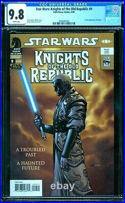 Star Wars Knights of the Old Republic 9 CGC 9.8 1st Revan