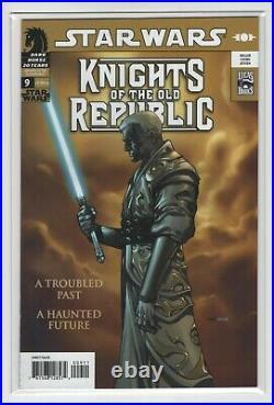 Star Wars Knights of the Old Republic #9 (NM- 9.2) Key, 1st Darth Revan