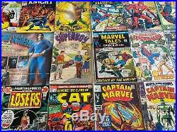 Superhero Comics Lot Marvel/DC 1960's/70's Old School