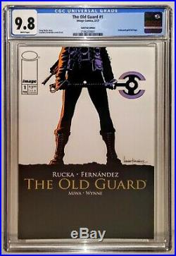 THE OLD GUARD #1 Variant Gold Foil Cover 1 Per Store CGC 9.8Netflix July 2020