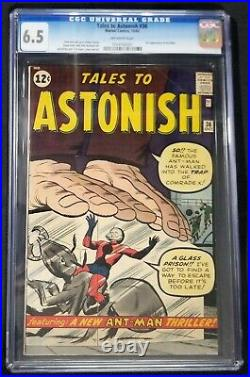 Tales To Astonish #36 CGC 6.5 3rd Appearance of Ant-Man Old Case