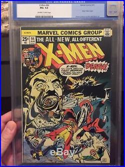 The X-Men #94/Key Marvel Comic Book/New Team Begins/CGC Old Label 6.5