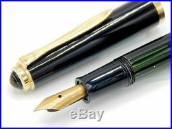 Ultra Rare Pelikan 400NN M&K Black Straited Mint New Old Stock Condition
