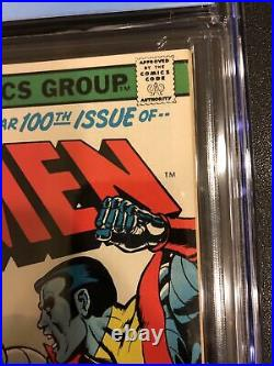 Uncanny X-Men #100 CGC 9.2 KEY MARVEL COMICS WOLVERINE VS ICEMAN OLD VS NEW NICE