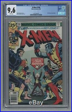 Uncanny X-Men #100 Old Vs New 1976 CGC 9.6 Near Mint+ NM+ White Pages