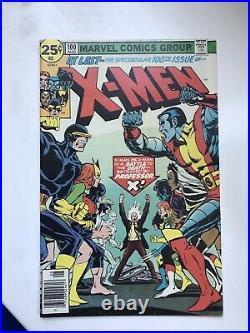 Uncanny X-men 100HIGH GRADE. New vs. Old team. KEY