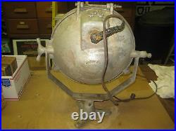 VINTAGE S&M LAMP G-30 FLOOD SPOT SEARCH FLOOD LIGHT INDUSTRIAL Lamp Ship OLD