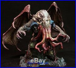 Very Rare Great Old Ones Cthulhu Figure unpainted Statue GK Resin White Model