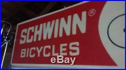 Vintage 1970s OG Schwinn Dealership Sign 97x30 Old School BMX Shop Seattle