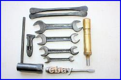 Vintage British Classic Motorcycle Whitworth Tool Kit
