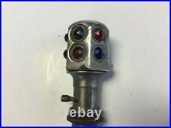 Vintage Glass Jeweled Dash Map Light, Nice Original, Ford Chevrolet Hudson