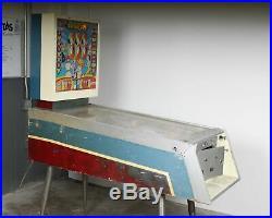 Vintage Old Retro 1960 Williams Darts Pinball Machine