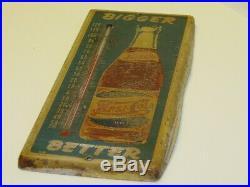Vintage Pepsi-Cola Thermometer, Old, Bigger Better, Original
