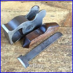 Vintage RARE Edward PRESTON BULLNOSE PLANE Old Antique Hand Tool #209