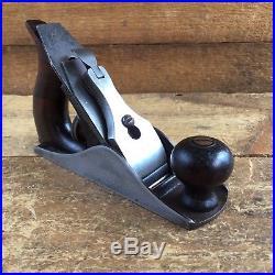 Vintage STANLEY USA No1 No1 1892 PLANE Old Antique Handplane Hand Tool #212