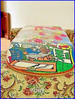Vintage Skateboard Deck New Deal NOS 1990 Rare Collectible Original OG Old Blind