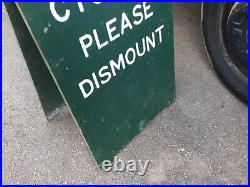 Vintage Wooden Advertising Sign, Not Enamel Sign, Collectable Man Cave, Old