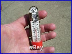 Vintage nos Volkswagen VW promo Visor interior Thermometer gauge Beetle bug old