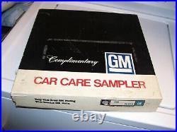 Vintage original Chevy gm nos auto Care can kit accessory chevelle Pontiac gto