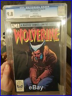 WOLVERINE ongoing #1, limited #1 2 3 4, & #66 1st old man logan CGC 9.8 KEYS sig