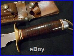 WW II Randall Model 1 Fighting Knife (not Springfield) -WW2 Antique/Old/Orlando