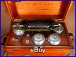 WW2Former JP Army Field No. 6 wireless telephone Free Shipping from JP